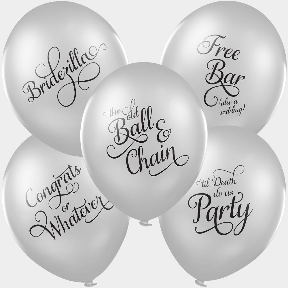 funny valentine's balloons