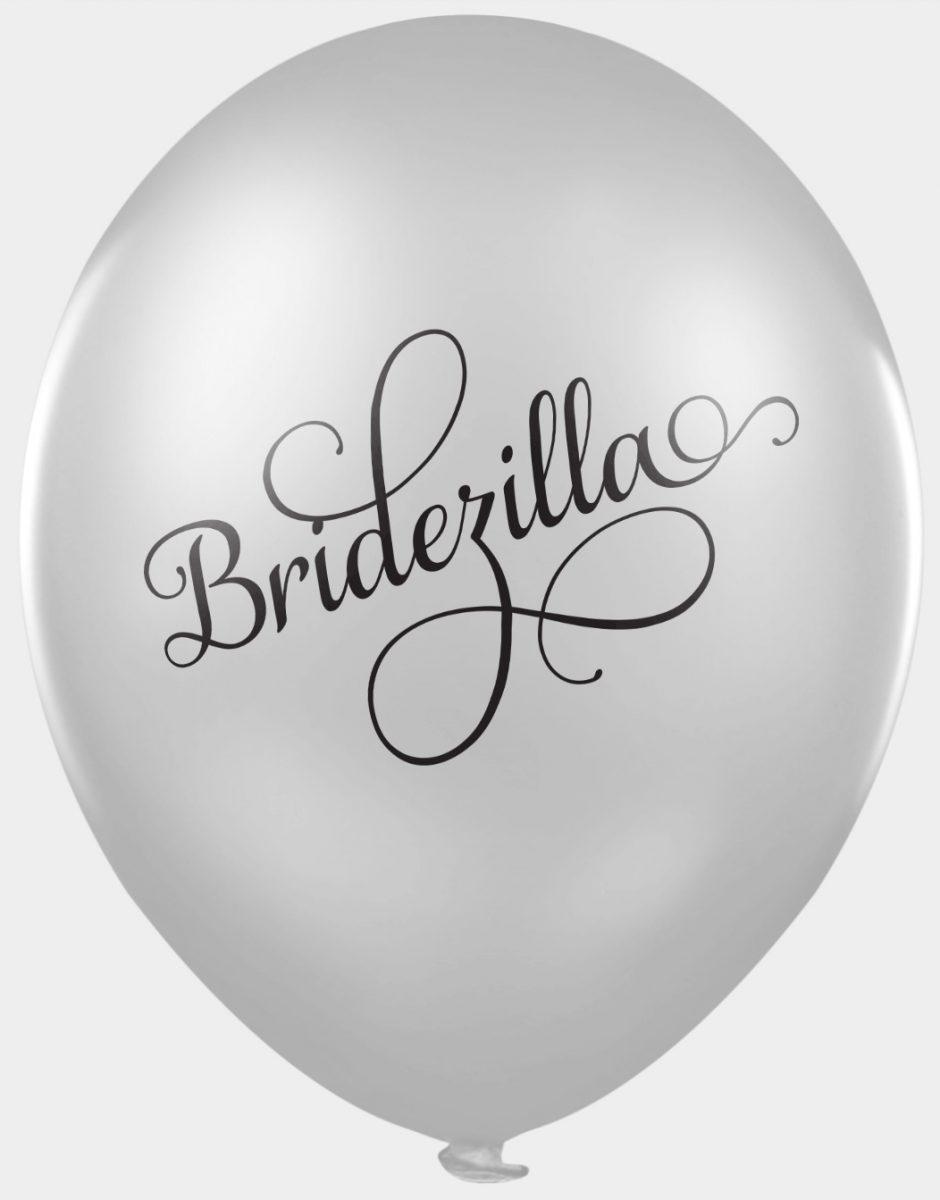 Bridezilla - funny wedding balloons for photobooths