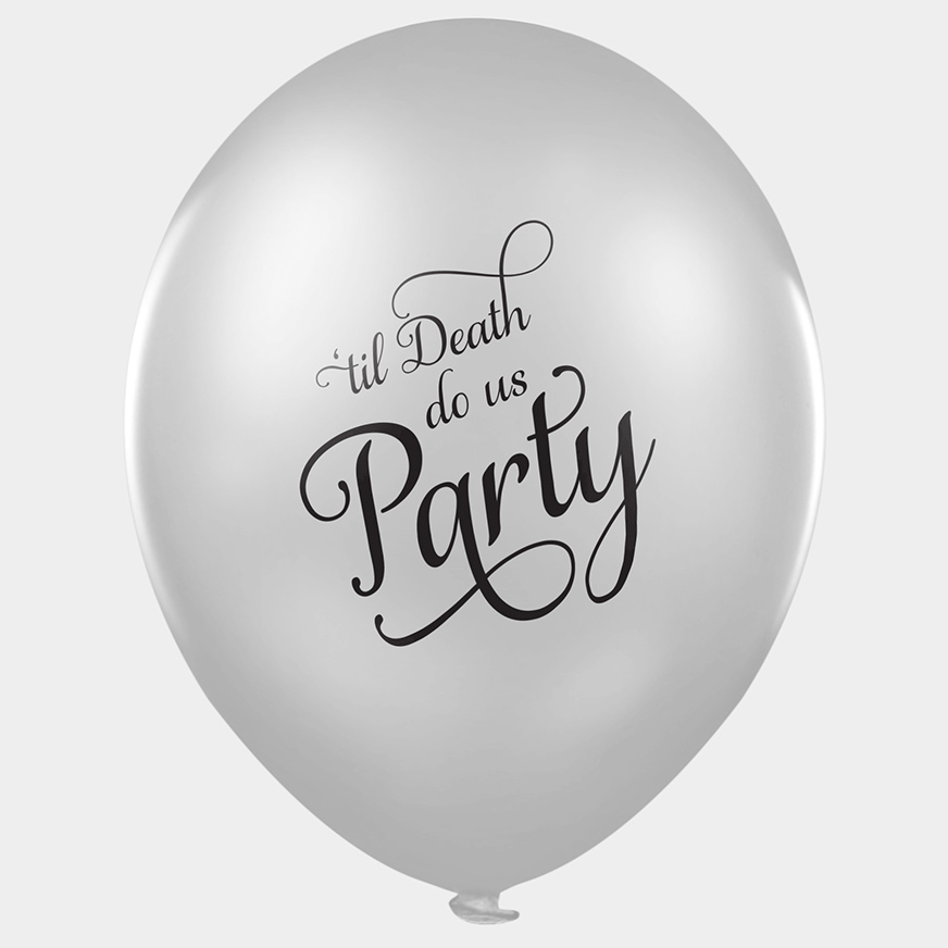 funny wedding balloons