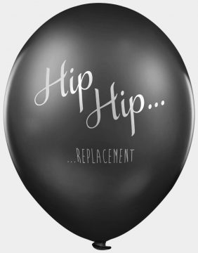 Hip Hip Replacement abusive offensive balloons