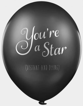 Funny balloons - You're a Star